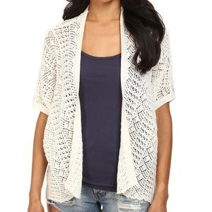 Roxy Short Sleeve Open Cardigan